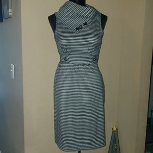 Maurices black checkered dress size 3 4